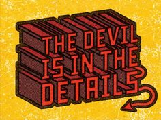 Alexei Vella - The Devil is in the Details