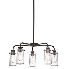 Chandelier 5Lt - Kichler Lighting - pendant, ceiling, landscape light fixtures & more