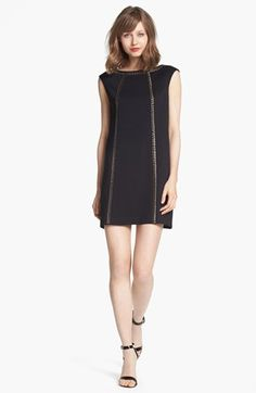 Maggy London Studded Ponte Shift Dress available at #Nordstrom