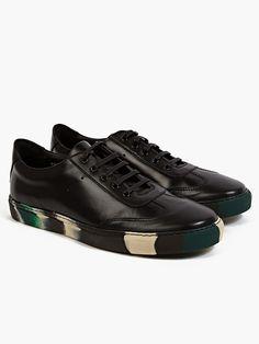 Comme des Garcons Black Camo Sneaker