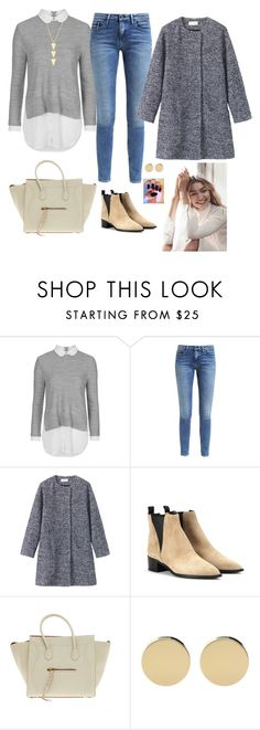 """""""Untitled #822"""" by azra-99 ❤ liked on Polyvore featuring Topshop, Calvin Klein, Toast, Acne Studios and CÉLINE"""
