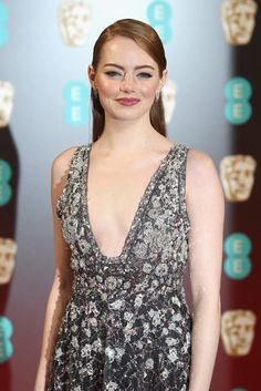 Emma Stone Wearing Chanel at the BAFTA Awards 2017