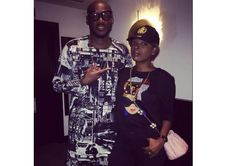 2face and Annie Idibia wish their fans a happy new year with adorable photo