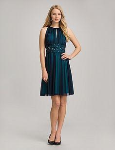 Misses elegant black cocktail dress dresses