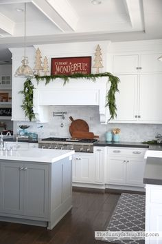 Christmas In The Kitchen Warm And Cozy Christmas Home Tour December