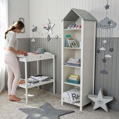 Blanco y gris para la habitación de nuestros #bebés :) #embarazo #mamás #decoración #habitación