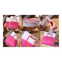 Paper Birkin Bag and Alexa Bag Set Gift by verryberrysticker