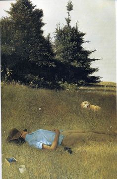 Andrew Wyeth 'Distant Thunder'