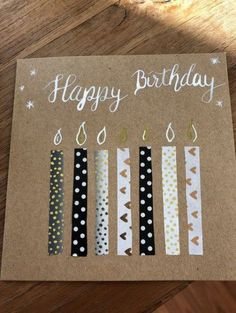 New birthday gifts cards ideas paper crafts 28 ideas Handmade Birthday Cards, Birthday Diy, Card Birthday, Simple Birthday Cards, Birthday Presents, Diy Birthday Cards For Best Friend, Birthday Ideas, Birthday Souvenir, Birthday Parties