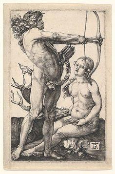 Diana and Apollo Albrecht Dürer, 1504 The Metropolitan Museum of Art