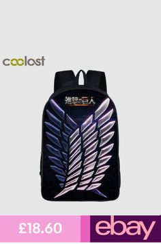 683041845f28 Anime Attack on Titan Backpack Shoulder Bags For Teen School Backpacks New