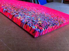 16x20 Paint Splatter Canvas