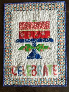 Quilty Fun Birthday Cake Banners