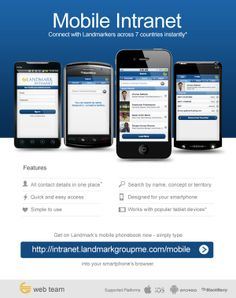 Landmark Group Intranet Mobile App - Email Design by Vener Sarmiento, via Behance Email Design, Mobile App, It Works, Smartphone, Behance, Geek, How To Get, Group, Mobile Applications