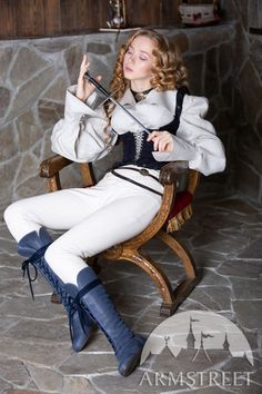 """Medieval Fantasy Boots For Women """"Forest"""" for sale :: by medieval store ArmStreet Medieval Fashion, Medieval Clothing, Medieval Outfits, Character Poses, Character Outfits, Character Art, Medieval Boots, Human Poses Reference, Medieval Fantasy"""