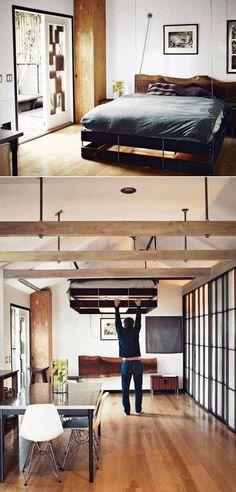 Kicsi a lakásod? Légy kreatív, és mindjárt el fogsz férni benne!
