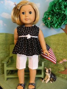 Hey, I found this really awesome Etsy listing at https://www.etsy.com/listing/190898610/4th-of-july-doll-clothes-american-girl