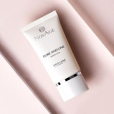 The new NovAge Pore and Line Perfector minimises the appearance of pores and fine lines for flawless-looking skin! #Oriflame #SkinCare #NovAge