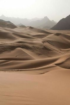 contrast of the smooth sand and rugged mountains. Dune, Beautiful World, Beautiful Places, Deserts Of The World, Desert Dream, Mother Earth, Wonders Of The World, Scenery, Around The Worlds
