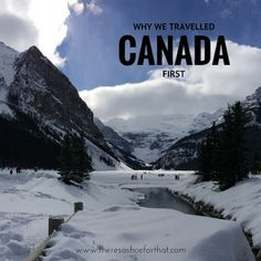 Why we travelled Canada first - There's a Shoe for That Canada 150, Visit Canada, Backpacking Canada, Canada Travel, Time Travel, Us Travel, Canada Holiday, Travel Album