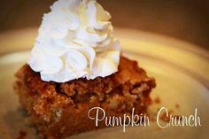 Pumpkin crunch
