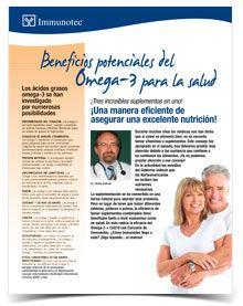 Beneficios potenciales del Omega-3 para la salud