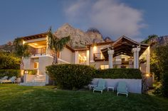 Luxury villa to rent Camps Bay.