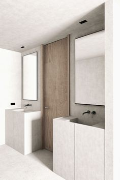 Bathroom - Residence Infanta Mª Teresa in Madrid by OOAA