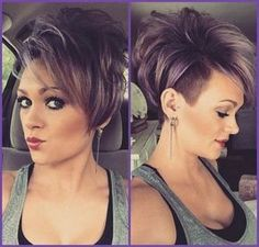 Shaved Pixie Haircut - Stylish Women Short Hair Style Designs