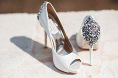 *Από το γάμο της Erin & του Kirk Νυφικά Παπούτσια Badgley Mischka   Φωτογράφιση Γάμου Studio Phosart