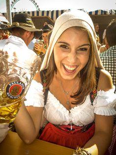 Oktoberfest =) Edullista olutta. Näillä festareilla kahvin juominen tulee kalliimmaksi ;)