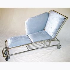 Shopping Cart Chaise now featured on Fab.