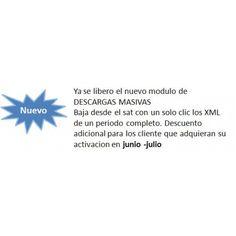 Promocion descarga masiva de archivos xml sat casi gratis