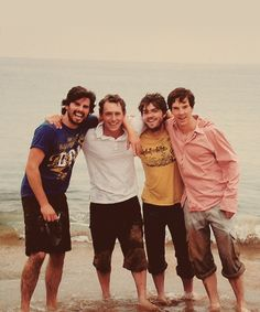 Adam Robertson, JJ Feild, Tom Burke & Benedict Cumberbatch (Third Star), Tom & Ben in one shot = <3