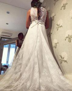 ss18 #lebaobab #bride #wedding #weddingdress #sposa Le Baobab, Lace Wedding, Wedding Dresses, Bride, Instagram, Fashion, Bridal Dresses, Moda, Bridal Gowns
