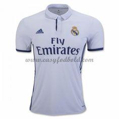 Fodboldtrøjer La Liga Real Madrid 2016-17 Hjemmetrøje