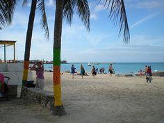 Junkanoo Beach Nau Bahamas Cruise Travel Ocean