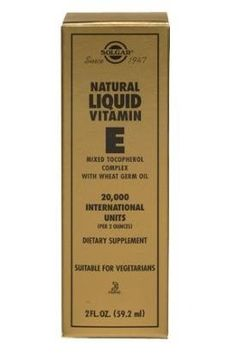 Solgar - E Liquid, 100 IU, 4 oz liquid by Solgar. $13.18. Liquid Vitamin E is one of Solgar's premium-quality vitamin E products.