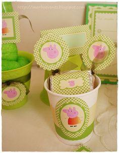 kit imprimbible Peppa Pig verde Merbo Events2 by Merbo Events, via Flickr