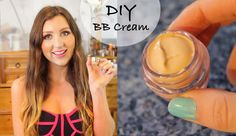 DIY Homemade BB Cream - for your skin tone! - YouTube