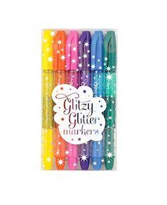 International Arrivals Glitzy Glitter Markers, Set of 6 (... https://www.amazon.com/dp/B00OA6THNQ/ref=cm_sw_r_pi_dp_x_Vlu-xbQK3P0G8
