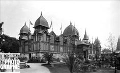Exposition universelle de 1889, Paris. Le Palais des Colonies.