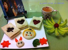 愛麗絲夢遊仙境之白吐司創作、香瓜、蘋果番茄汁,佐老木的最愛:許茹芸的「日光機場」。