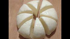 Mozzarella Cheese  تحضير جبن/فرما ج الموزاريلا بالحليب فقط %100 ناجحة ، تذوب بسرعة و لذيذة - YouTube Dairy, Cheese, Food, Meal, Essen, Hoods, Meals, Eten