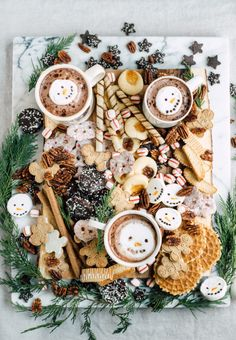 Christmas Dessert Board - Christmas Dessert Board – Casey Wiegand of The Wiegands Christmas Sweets, Christmas Cooking, Merry Little Christmas, Christmas Goodies, Christmas Desserts, Holiday Treats, Winter Christmas, Holiday Fun, Christmas Holidays
