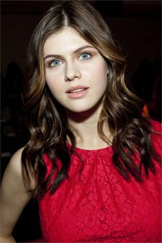 Alexandra Daddario Picture in Red Hot Dress  #hollywoodactress #celebritystyle