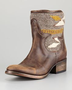 Distressed Leather Caballero Boot (Stylist Pick!) at CUSP.