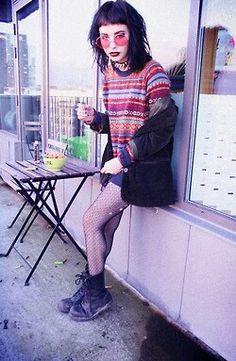 Grunge Hipster Grunge, Grunge Goth, Grunge Style, Soft Grunge, Nu Goth, Grunge Outfits, Outfits Casual, Fashion Outfits, Pastel Goth Fashion
