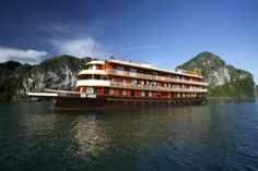 One of Vietnam's most prized treasures and one of the country's most   popular places to visit, Halong Bay is recognized as the world natural   heritage two times by UNESCO.Check out more @ http://goo.gl/xJQxpu