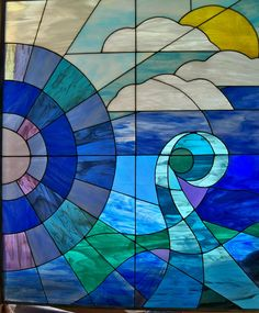 watercolor stained glass windows - Google Search